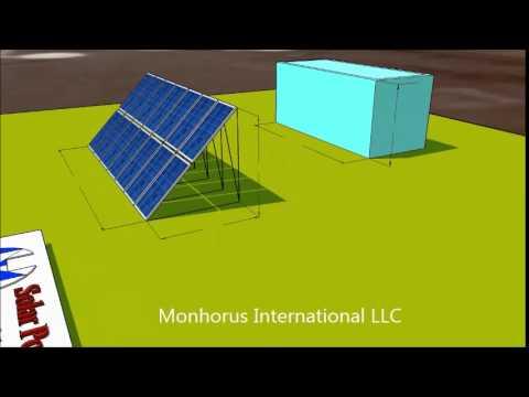 Solar powered refrigerator
