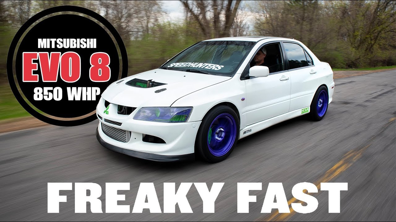 Freaky Fast 850whp Evo 8 | MAPerformance Fast Features