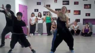 Choreografia Ragga Jam: Laure Courtellemont -  CLASS NO DIFFERENCE TOUR PROJECT BORDEAUX -