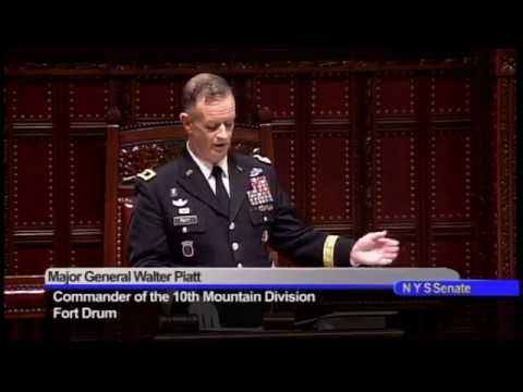 New York State Senate Celebrates 2017 Fort Drum Day at State Capitol