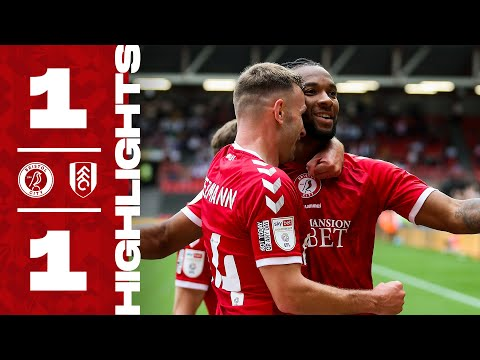 Bristol City Fulham Goals And Highlights