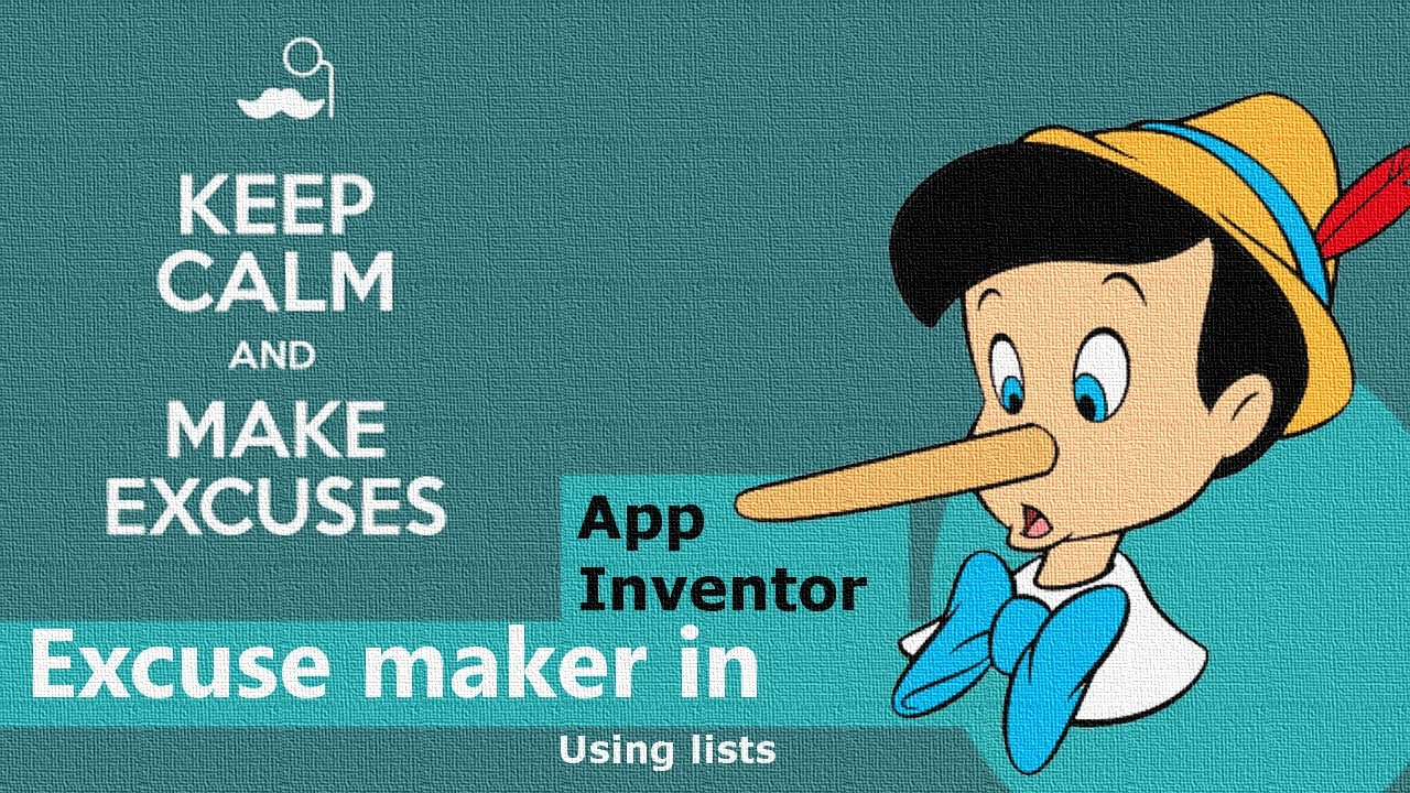 Make an an Android App in 40 minutes: Homework Excuse Maker! | App ...