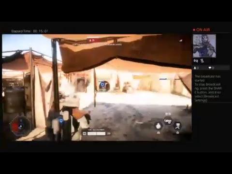 Cap'n OG playing Battlefront 2