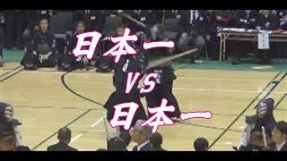 【代表戦・中学生】日本一vs日本一「つくば市少年剣道大会」2017年12月