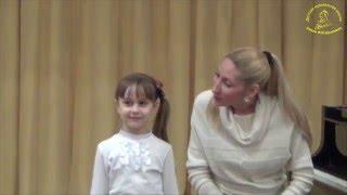 Прослушивание при поступлении в Детскую музыкальную школу