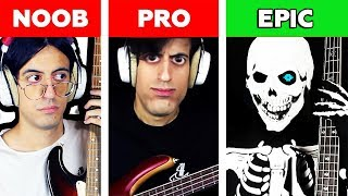 Spooky Scary Skeletons: NOOB vs PRO vs EPIC