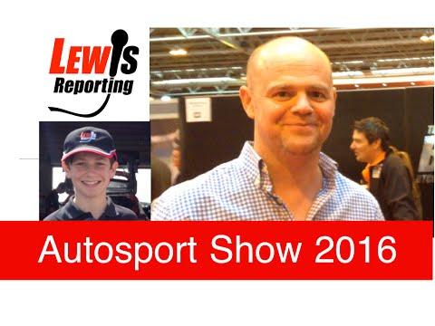 Warren Scott - TeamBMR BTCC - Autosport Show 2016