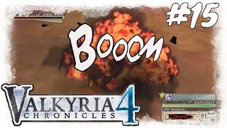 Lets Play Valkyria Chronicles 4 #15 / Achtung Panzerabwehr Kanonen/ Gameplay (PS4 / German /Deutsch)