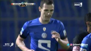 هدف الهلال الأول ضد الوحدة (ليو يوناتيني) في الجولة 12 من دوري جميل