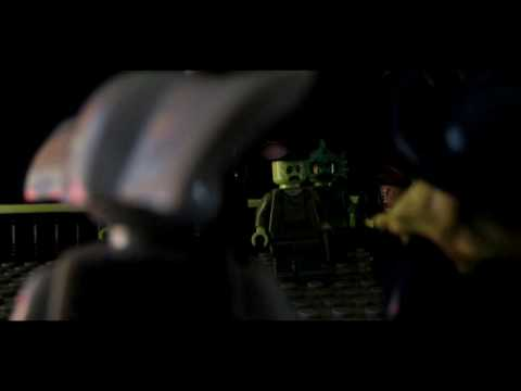 PIRATES OF THE CARIBBEAN 2 DAVY JONES INTRODUSING SCENE LEGO VERSION