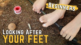 Hiking FOOT CARE for Beginners // Looking After your Feet for Hiking - HEALTHY Feet for Hiking screenshot 5