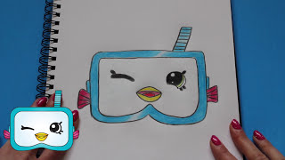 High Quality How To Draw Shopkins Season 5 Snorky Petkin Step By Step Easy | Toy Caboodle