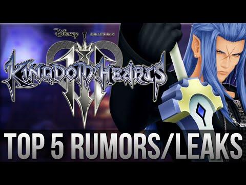 KINGDOM HEARTS 3 - Top 5 Rumors/Leaks