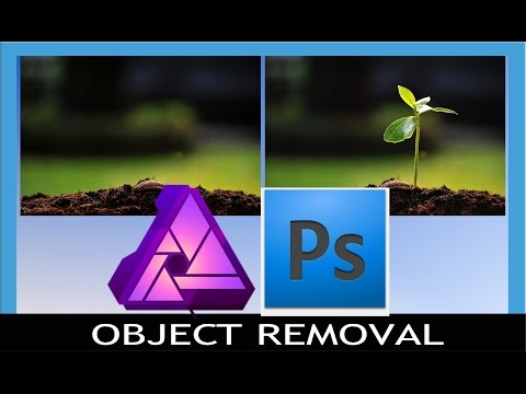 Affinity Photo vs Photoshop - Object Removal Techniques