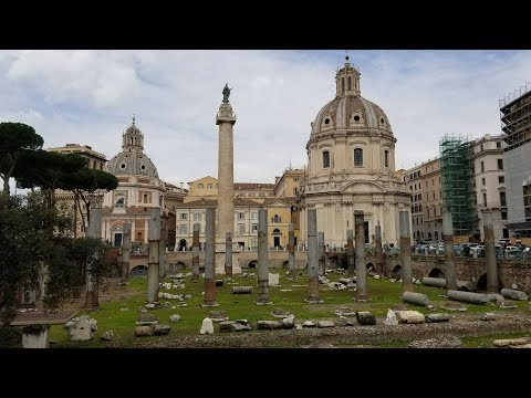 #588 ROME, ITALY Pantheon & Ruins of the Roman Empire - Daze With Jordan The Lion (3/17/2018)