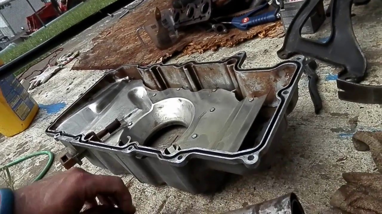 Cadillac Deville Oil Pan Gasket Replacement Part1 Very