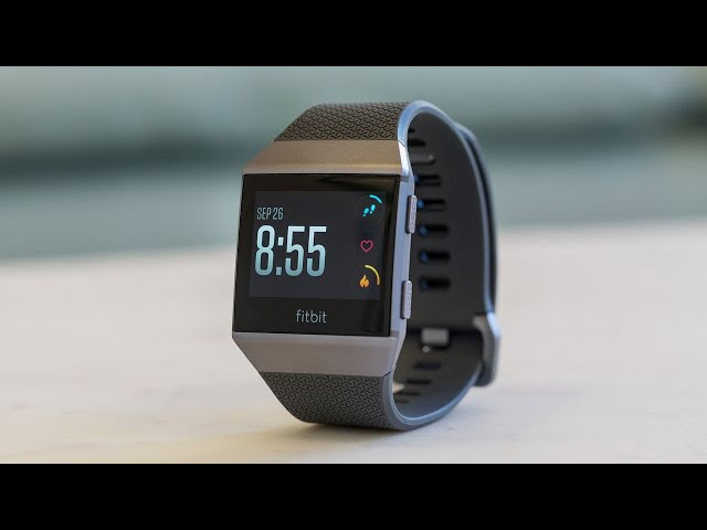 Fitbit Ionic Review Not Iconic But Still Pretty Good The Verge
