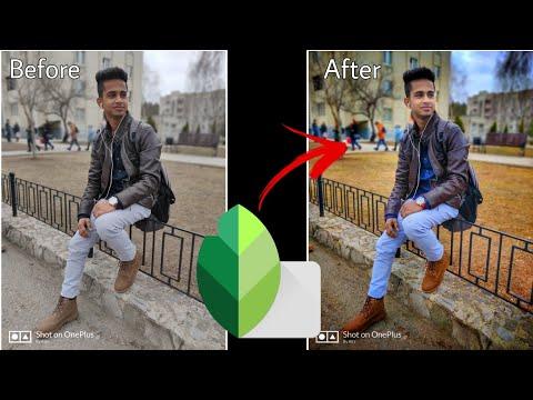 DSLR जैसे फ़ोन की फोटो कैसे बनाये ? | Snapseed Best HDR Effect Mode Looking Like  Professional