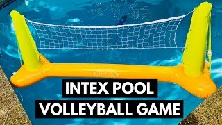 Intex Floating Pool Volleyball Game Review And Setup Guide