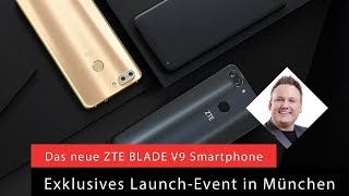 ZTE Blade V9, Test deutsch, Smartphone, Review, Unboxing, Hands on,