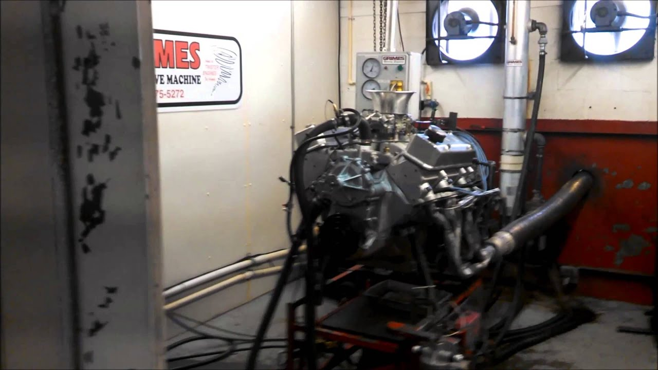 1970 Trans Am - Pontiac 400 Engine Dyno