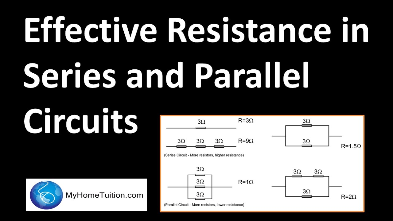 Effective Resistance In Series And Parallel Circuits Electricity Explain Circuit