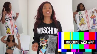 H&M X MOSCHINO HAUL TRY ON REVIEW