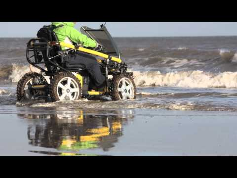 TerrainHopper: Mobility Scooter On The Beach, Wheel Chair on the Beach with ease