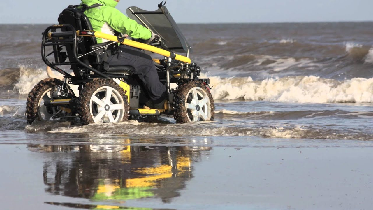 Terrainhopper Mobility Scooter On The Beach Wheel Chair