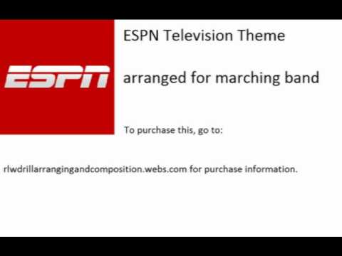 ESPN Television Theme-Arrangement for Marching Band