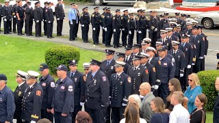 Hyannis Fire Cpt. Thomas Kenney Mourned In Hyannis