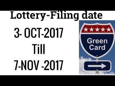 Green card lottery program/ Diversity Immigrant Visa Program