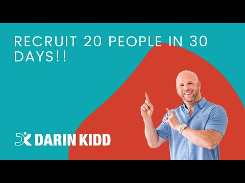 Recruit 20 people in 30 Days!! 🚀💥