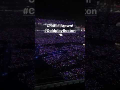 #ColdplayBoston - 4 August 2017
