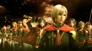 FINAL FANTASY TYPE-0 HD - Gameplay do Início