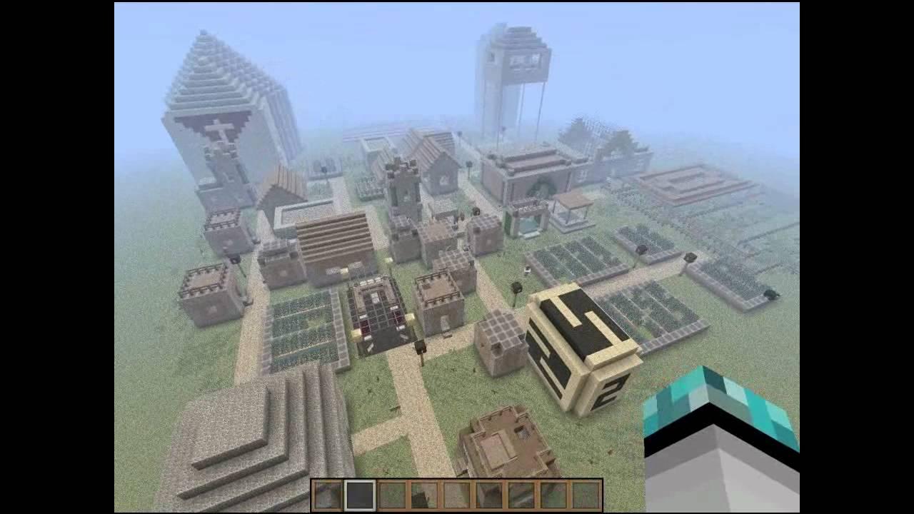 Coole Minecraft Welt Zum Downloaden