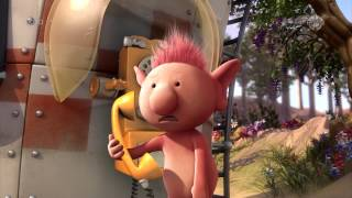 Kijk Pootle belt naar huis filmpje