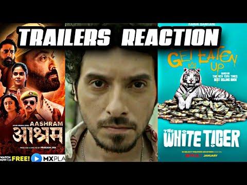 Aashram Chapter 2 Trailer Reaction | Bicchoo ka khel Trailer | The White Tiger Trailer Reaction