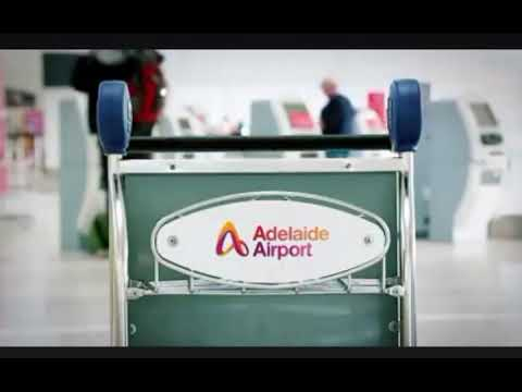 Adelaide Airport free trolley