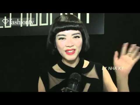 Lý Nhã Kỳ tự tin nói tiếng Anh trên FashionTV   VnExpress Giải Trí