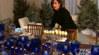 Hanukkah Table-Fine Living