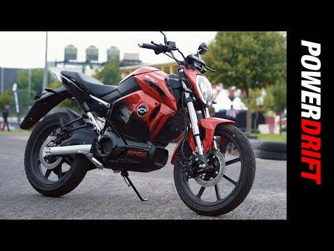Revolt RV 400 : India's first electric motorcycle ridden : PowerDrift