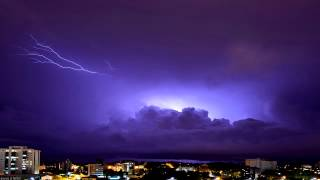 Thunderstorm - 12Hrs - Sounds of Nature - WHITE NOISE 4 Sleep, Focus, Relaxation, Meditation