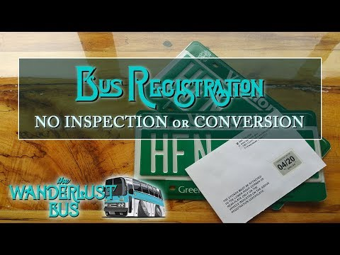 Register Your Bus without Conversion in Any State
