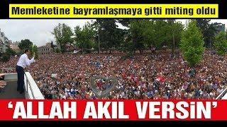 Ekrem İmamoğlu geldi Trabzon'da yer yerinden oynadı! Tarihi kalabalık...
