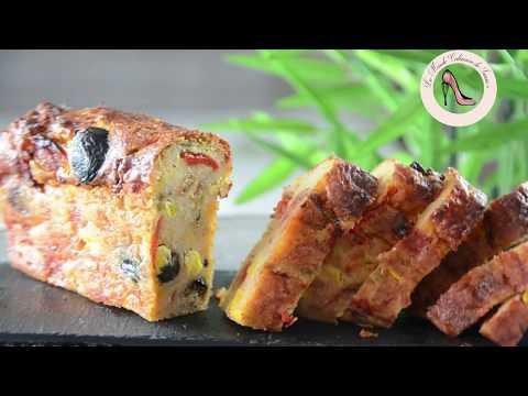 recette-cake-salé-facile-poivrons-maïs-tomates