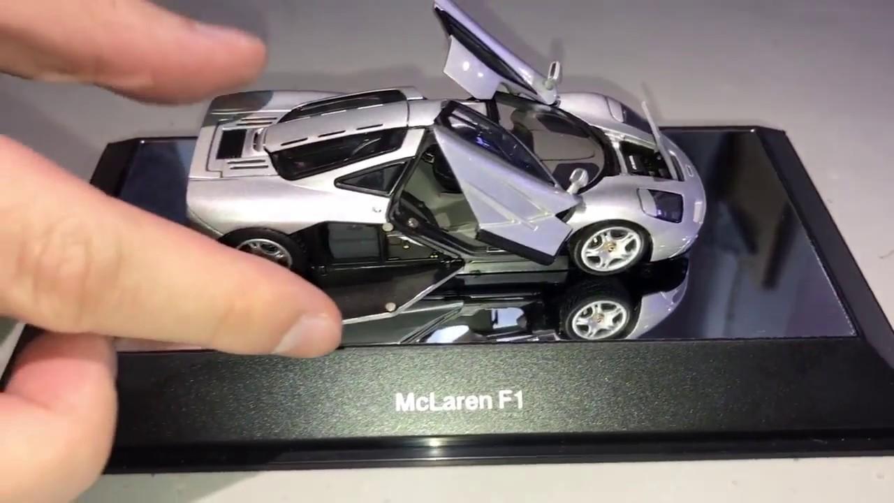 autoart 1:43 mclaren f1 (art no. 56001) - youtube