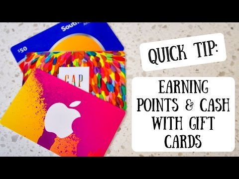 Earning Points & Cash with Gift Cards | Maximizing Credit Card Bonus Categories