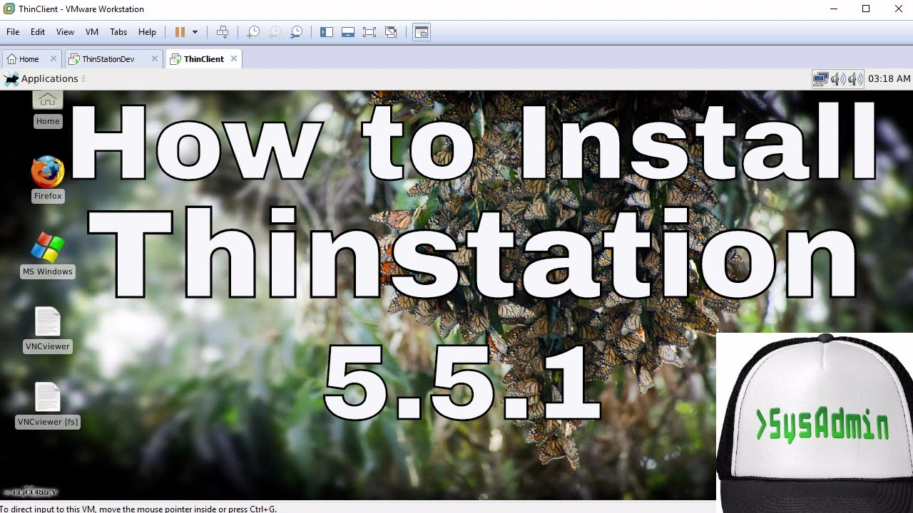 How to Install Thinstation 5 5 on Hard Drive + Build Thin Client ISO Image  on VMware Workstation