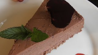 Как приготовить шoколадный чизкейк( без выпечки) !   Chocolate Cheesecake!